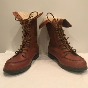 GH Bass & Co 'Mae' Combat Boot, size 7